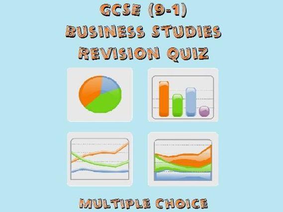 GCSE Business Studies Revision Quiz