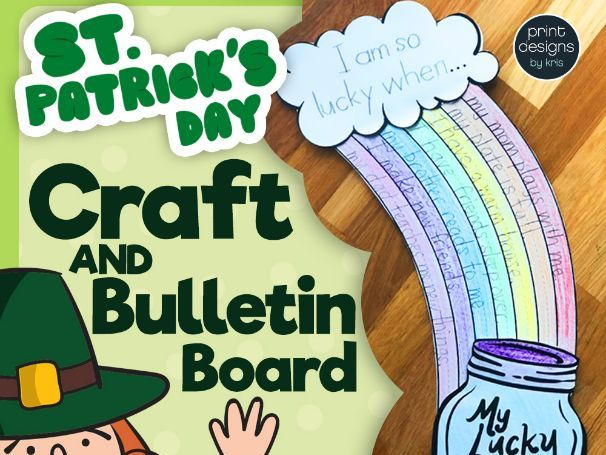 St. Patrick's Day Craft and Bulletin Board