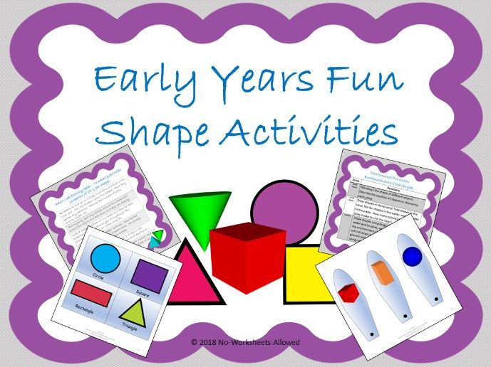 Shape Activities and Resources