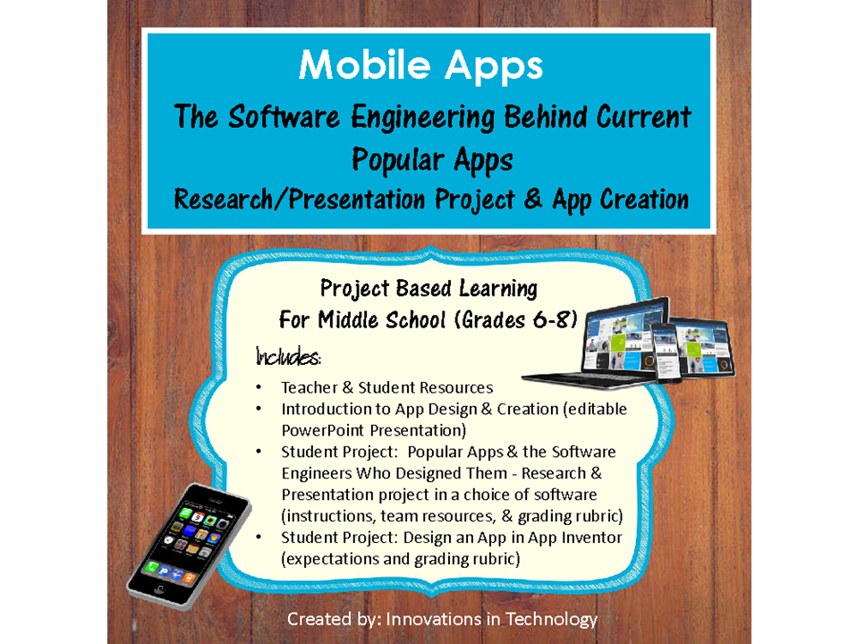 Mobile Apps - Research and Design Your Own App