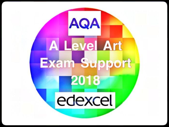 Art. EdExcel and AQA A level Art Exam