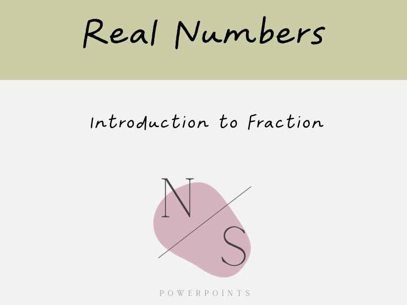 Introduction to Fractions Lesson Presentation