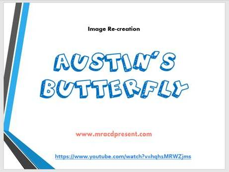 FREE Austin's Butterfly PowerPoint