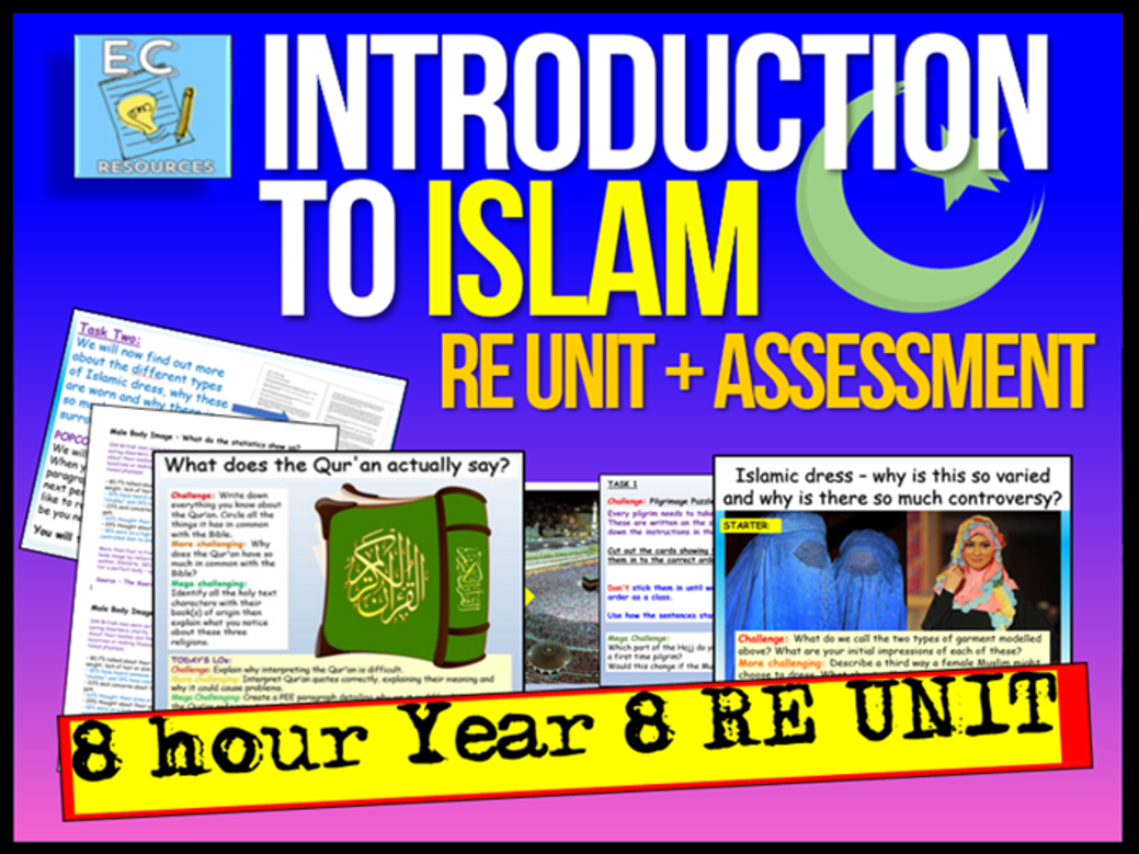 Islam Year 8 RE Unit