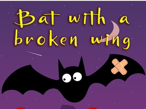 'Bat with a Broken Wing': Poignant Halloween song. Disability theme