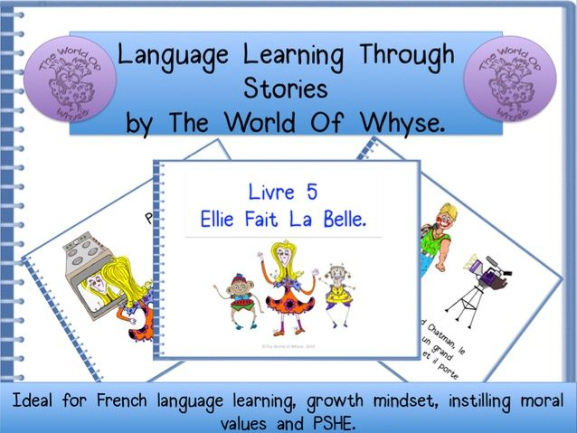 French Story – totally original for KS2 & KS3 pupils – 'Ellie Noir Fait La Belle.