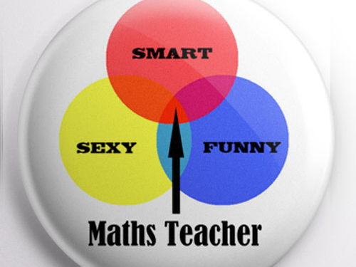 Teacher Badge - Maths Teacher