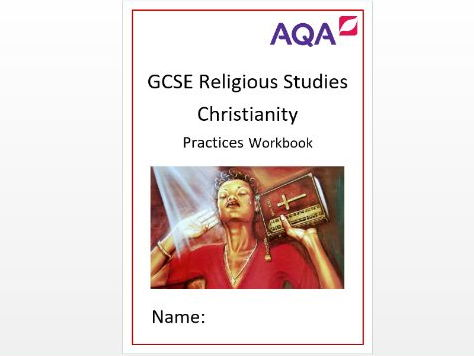 AQA Christianity Practices Workbook and Exam Questions