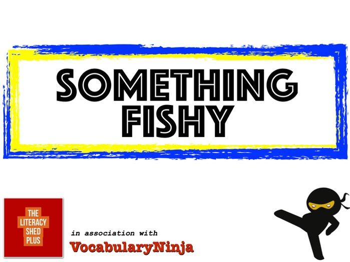 Something Fishy Vocabulary Pack