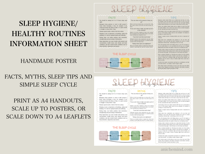 Sleep Hygiene and Healthy Routines