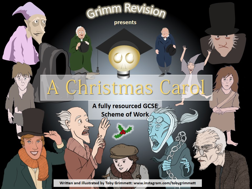 A Christmas Carol full GCSE Scheme of Work (Linking to AQA Language and Literature Exams)