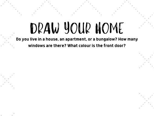 Draw your home