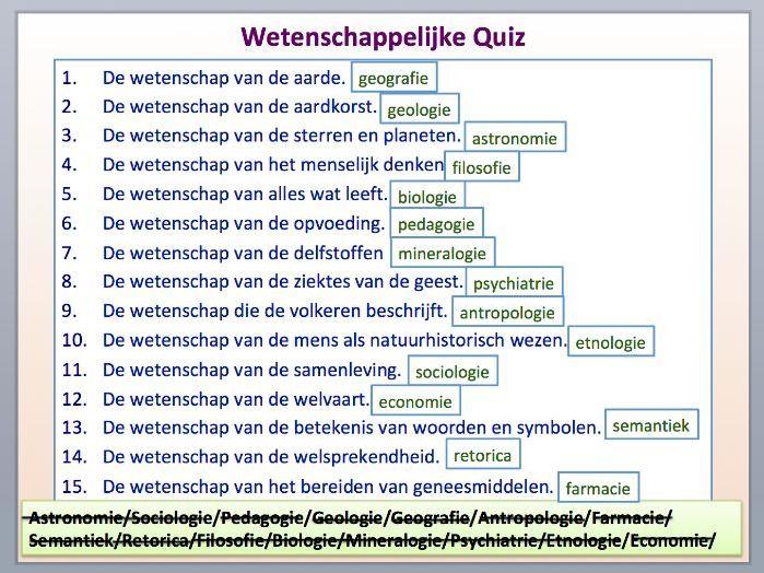 Intermediate Dutch - Science - Suitable for B1-B2 Learners.