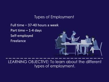 BTEC Music: Types of Employment