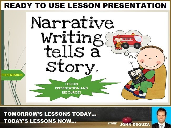 NARRATIVE STORY WRITING: READY TO USE LESSON PRESENTATION