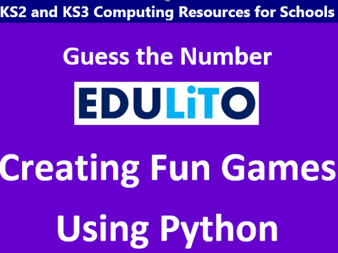 Python Games - Guess the Number