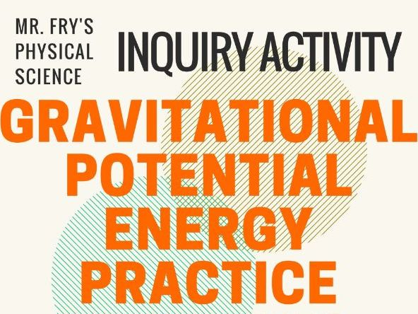 Gravitational Potential Energy - Practice Problems - Great Worksheet w/ key!