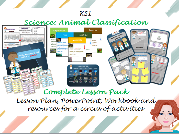 Animal Classification Lesson Pack - KS1 Science