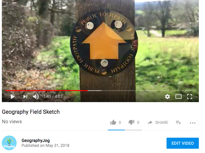How to do a Field Sketch Geography GCSE