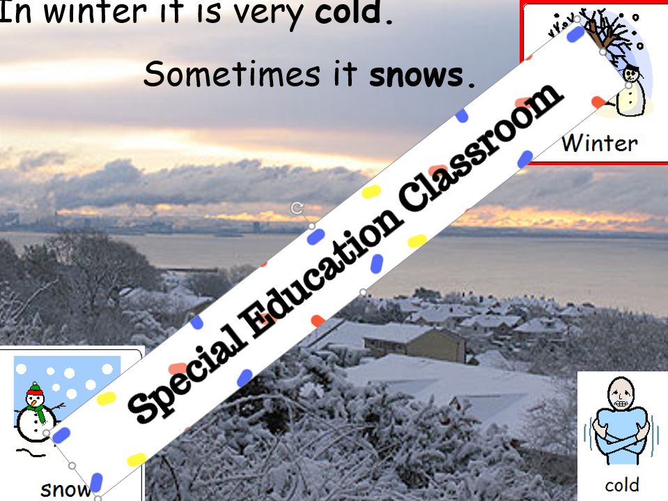 Hot and cold Temperature/Weather/Clothes/Seasons for Special Needs and Autism