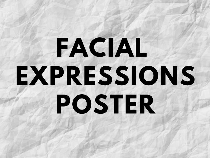 Facial Expressions Poster