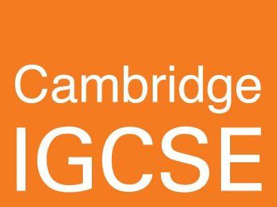IGCSE Cambridge Chemistry
