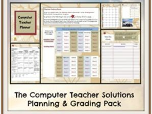 The Computer Teacher Planning and Grading Pack!