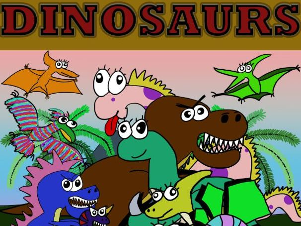 DINOSAURS & FOSSILS BOOK