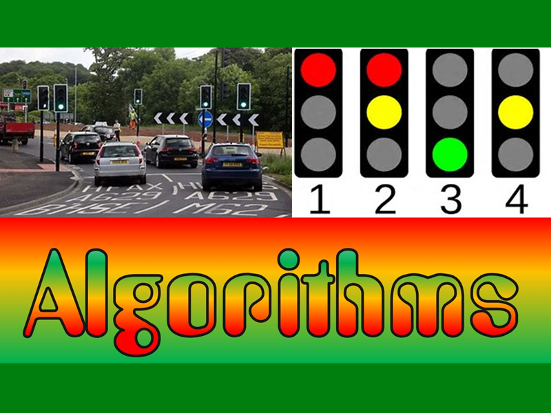 OUTSTANDING ALGORITHMS LESSON - Creating Traffic lights in Scratch
