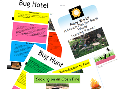Outdoor Learning Forest School Complete Set of Activities