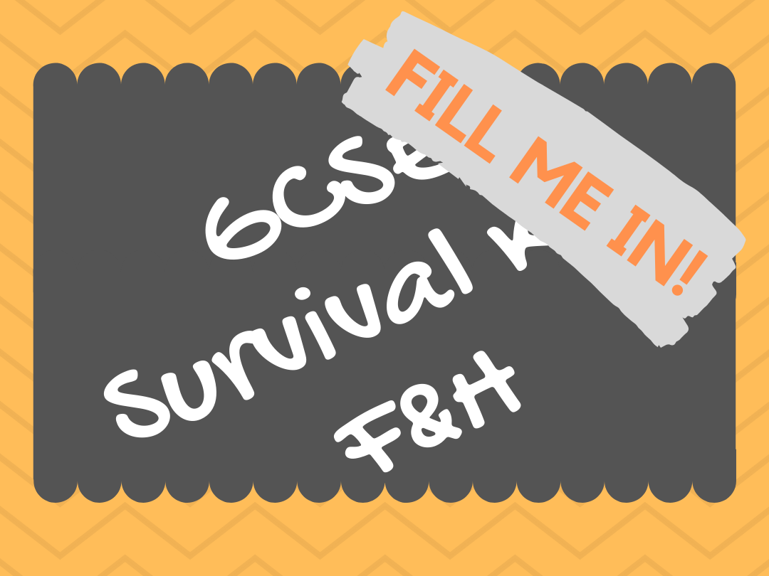 SURVIVAL KIT GCSE SPANISH 1-9 - ENTIRE COLLECTION