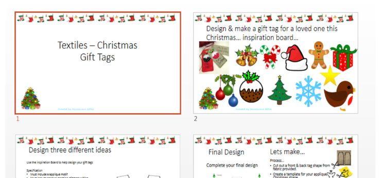 Christmas - Textiles - Gift Tags