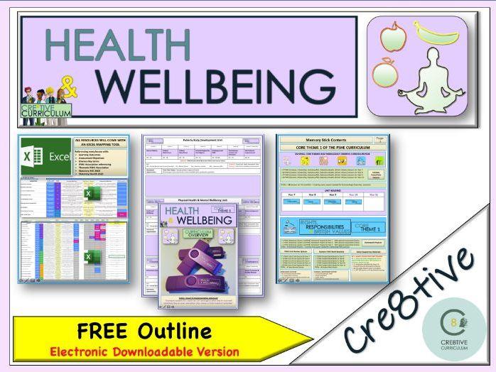 PSHE Health & Wellbeing Purple Bundle Brochure