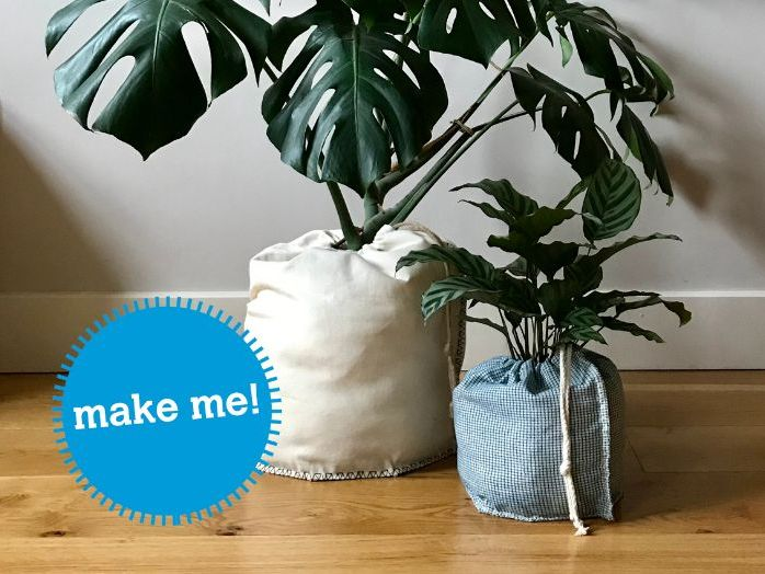 Make your own: Plant Pot Cover
