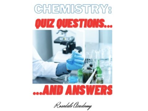Chemistry Edexcel 9-1 Paper 1 & Paper 2 Revision Quiz - Questions and Answers -  Quick Revision Tips