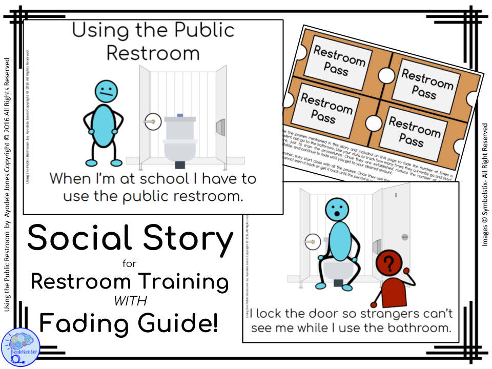 Using the Public Restroom- A Social Story for Autism Units or Early Elem.