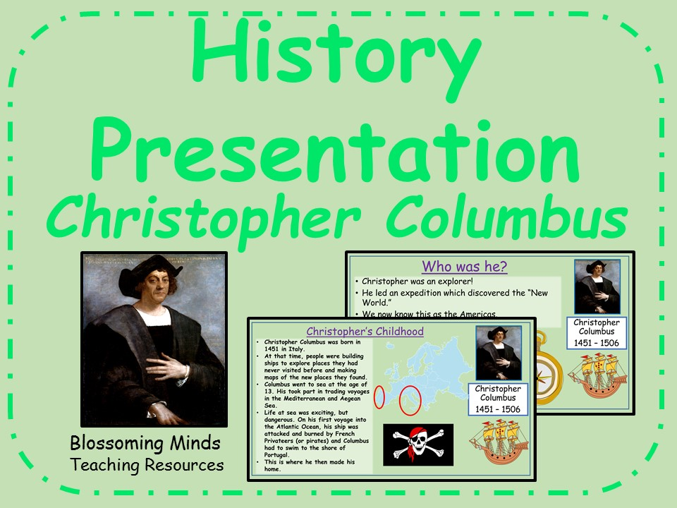 History presentation- Christopher Columbus