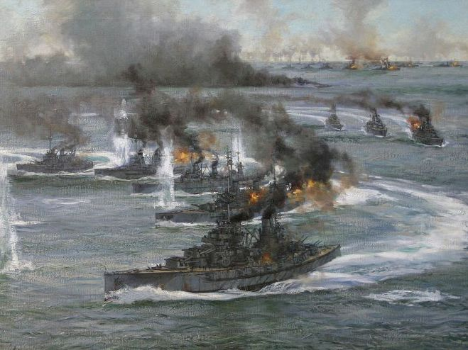The Battle of Jutland, 1916