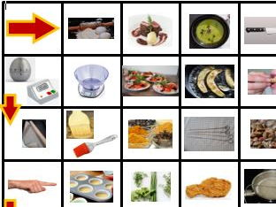 NEW GCSE Food Tech: Food Preparation skills1 - board game, cue cards, list of terms