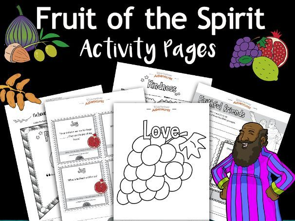 Fruit of the Spirit Activity Book FREEBIE