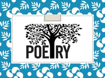Intro to Poetry and Slam Poetry
