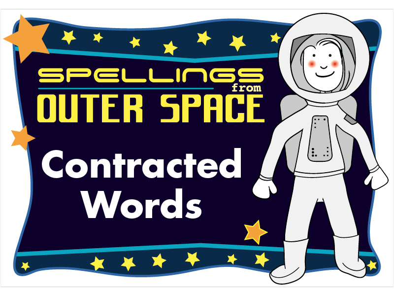 Year 2 Spellings Contracted words