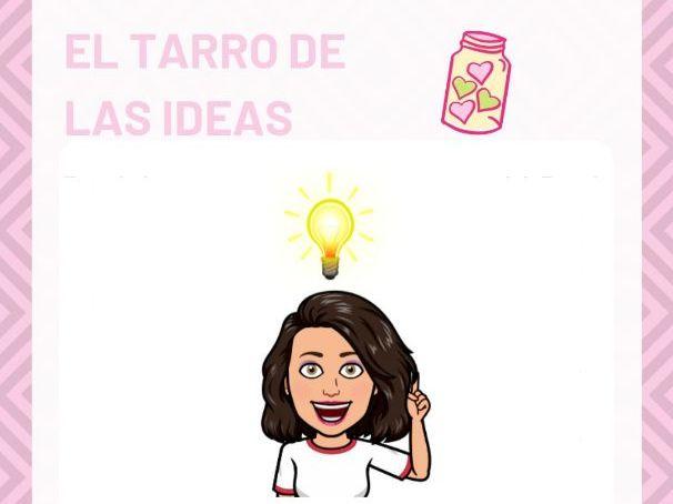 El tarro de las ideas / Jar of ideas
