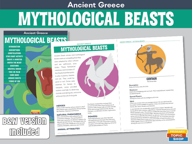 Ancient Greece - Mythological Beasts