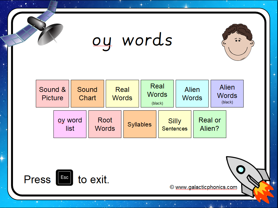 The 'oy' PowerPoint
