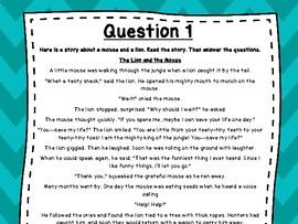 3rd Grade Language Arts Test Prep Set 7