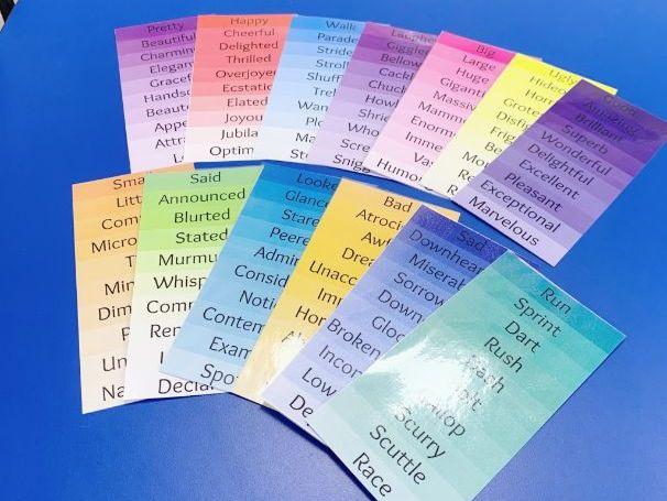 Synonym Strips