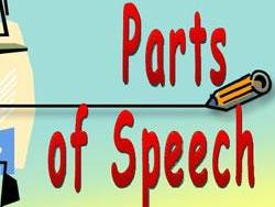 Parts of speech - 2 worksheets - Adjectives, Nouns and Verbs