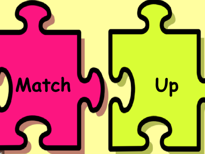 High-Frequency Words Match-Up Game