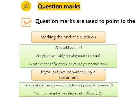 Grammar Lesson 29: Ending sentences